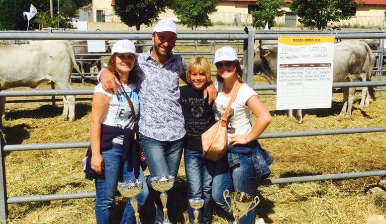 Allevamenti bovini podolici: l'Azienda Cataldo Forciniti premiata a Camigliatello