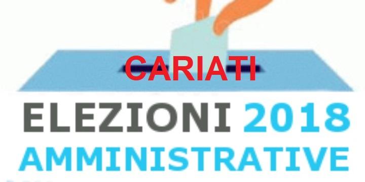 CARIATI, AMMINISTRATIVE 2018: LE LISTE DEI CANDIDATI E I PROGRAMMI ELETTORALI