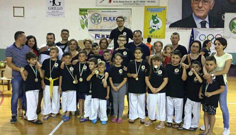 Grandi soddisfazioni per l'Asd Accademia Funakoshi Karate-Do Cariati
