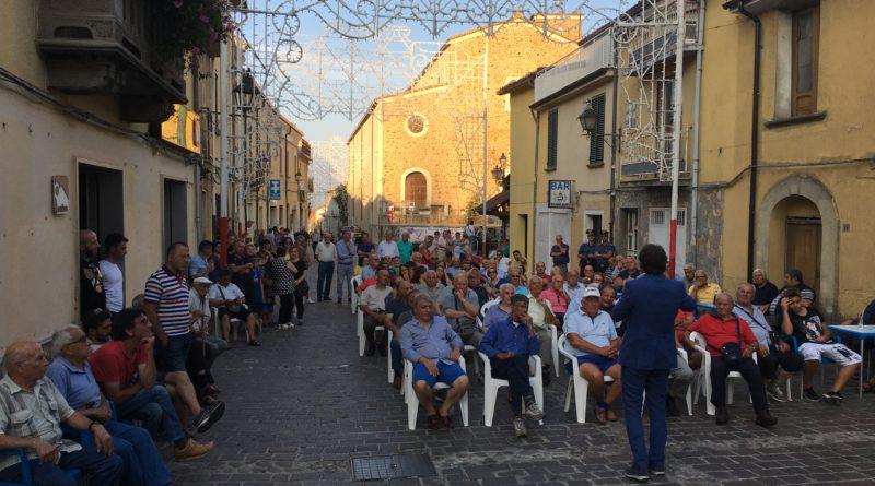 Bocchigliero, il Prof. Pasquale Tridico incontra i cittadini