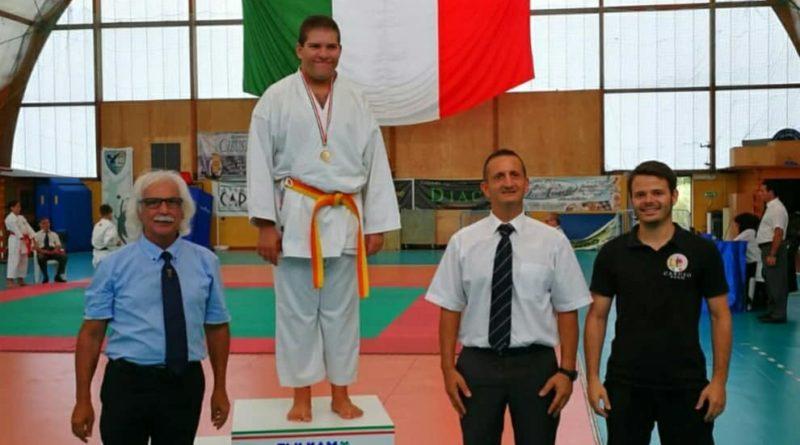 L'atleta Flavio Franco campione regionale di Karate