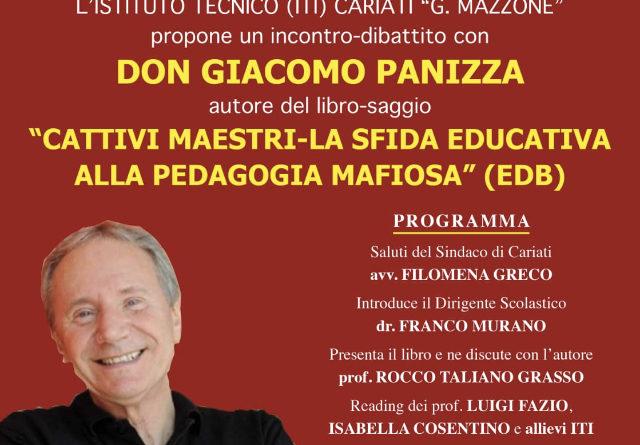 Cariati, incontro-dibattito con Don Giacomo Panizza