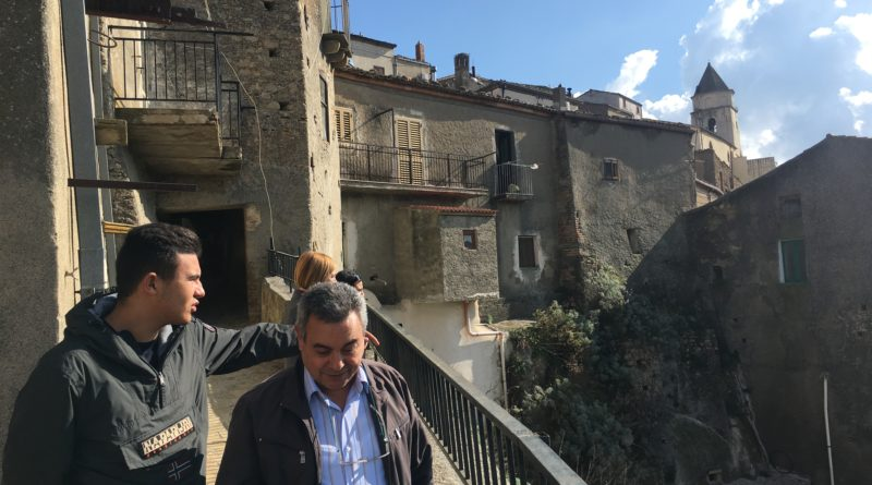 La Senatrice Corrado in visita a Scala Coeli